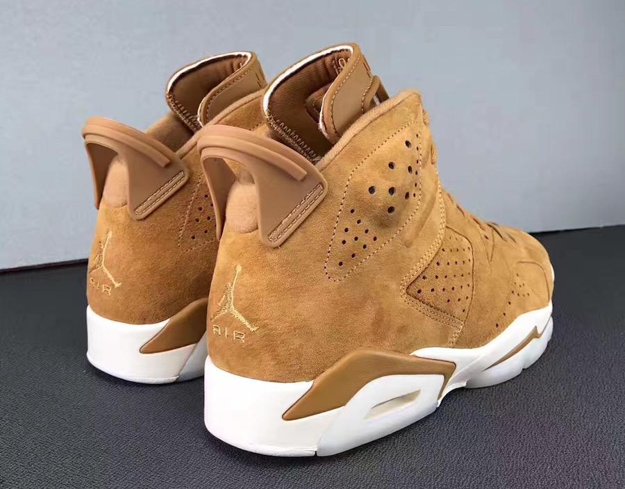 bcf5ede394f790 Air Jordan 6 Wheat 384664-705 Release Date