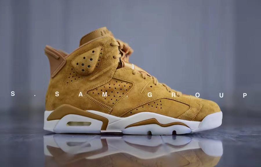 Air Jordan 6 Wheat 384664-705 Release