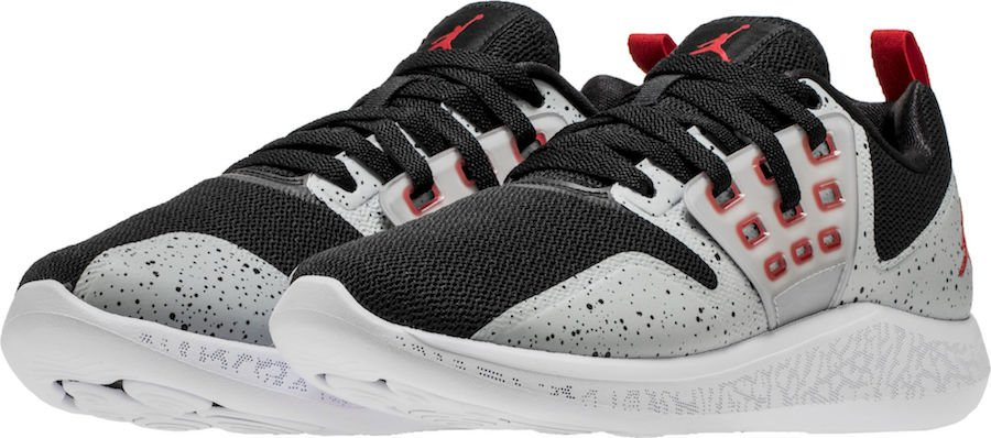Air Jordan Lunar Grind Black Cement