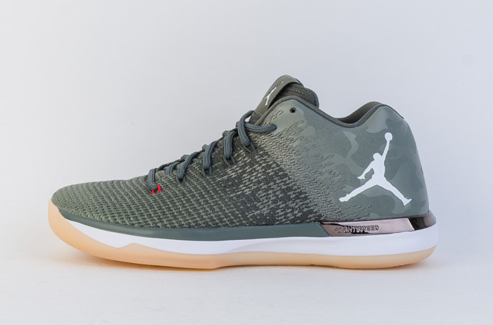 Air Jordan XXX1 Low Camo August 2017