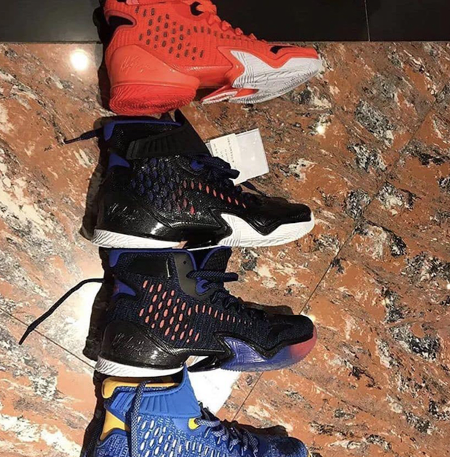 ANTA KT3 Klay Thompson Colorways