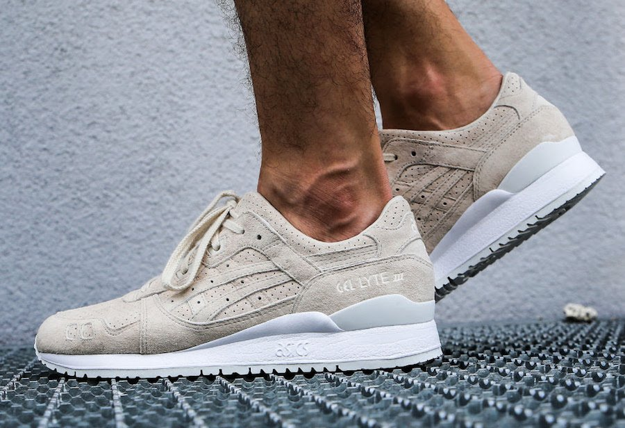 Asics Gel Lyte III Birch Suede Perforated | SneakerFiles