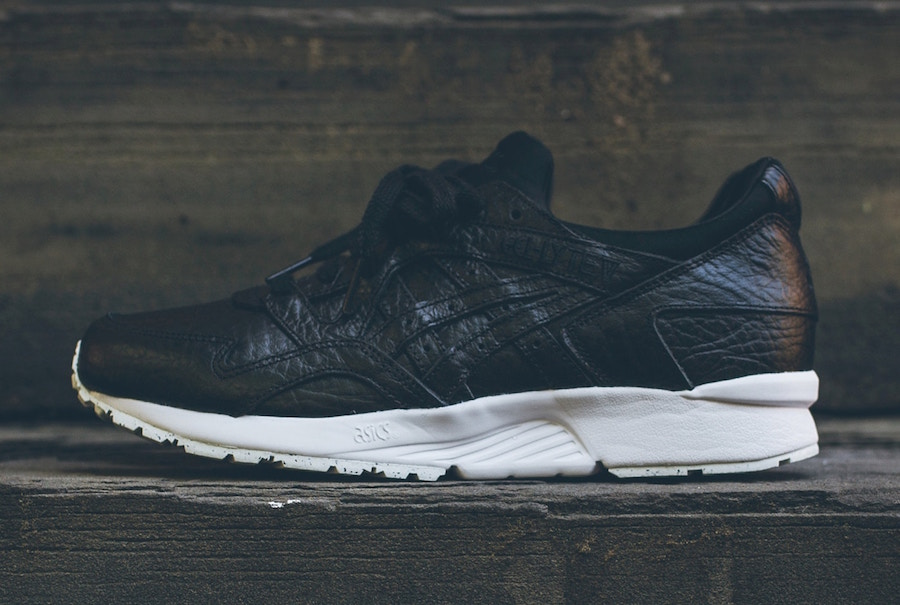 Asics Gel Lyte V Black Tumbled Leather
