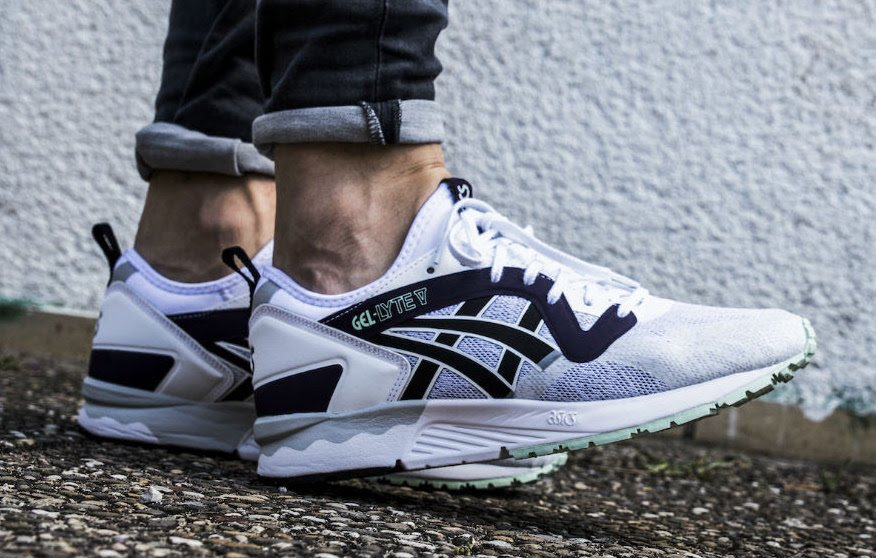 asics gel lyte 5 black purple