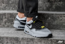 Asphalt Gold Nike Air Max 1 Flyknit Smart Car