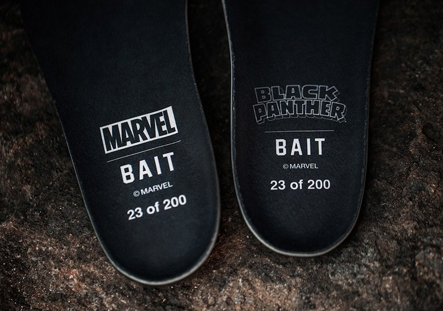 BAIT Black Panther Puma Clyde Sock