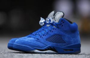 Blue Suede Jordan 5 Retro 136027-401