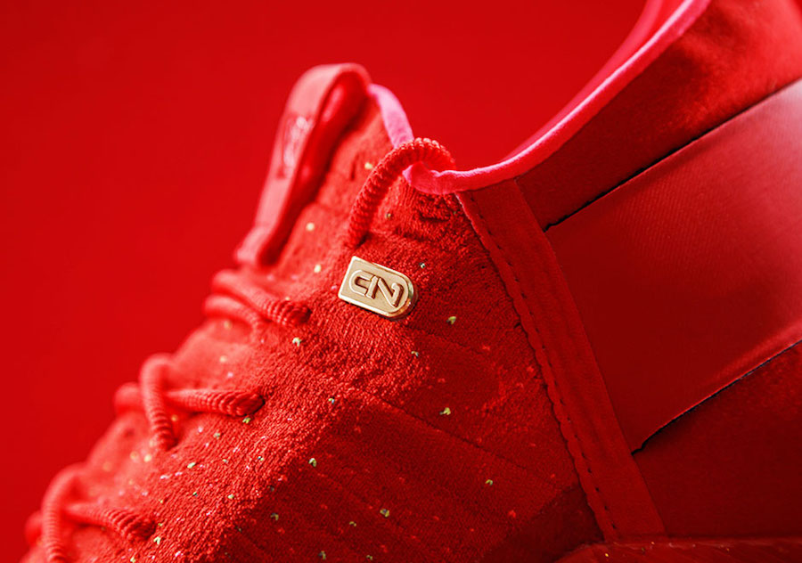 Cam Newton Under Armour C1 Trainer Red Gold