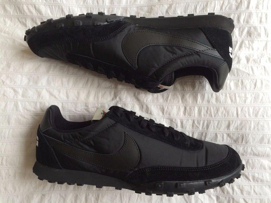 ac93a406d2cc8 COMME des GARCONS Nike Waffle Racer Black AA9709-001