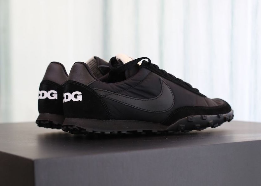b2ae6a9c7a6a COMME des GARCONS Nike Waffle Racer Black AA9709-001