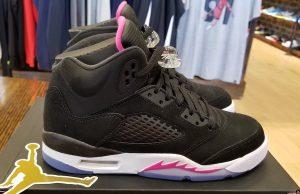 Deadly Pink Air Jordan 5 GS