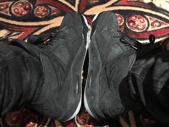 Drake KAWS Air Jordan 4 Black
