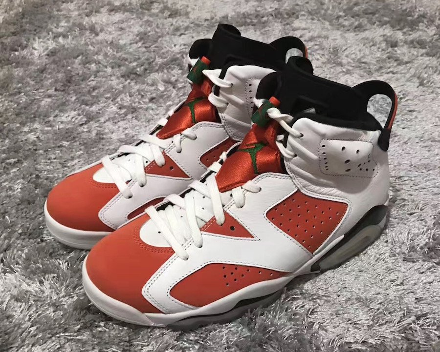 Air Jordan 6 'Gatorade' Inspired by Be Like Mike Commercial via Brian Betschart