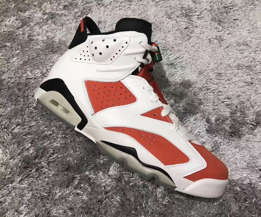 the latest 62ef2 860a2 Air Jordan 6 Gatorade White Orange Green 384664-145 ...