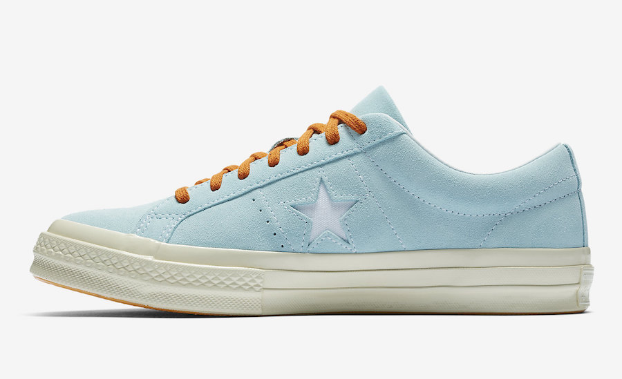 Golf Wang Converse One Star Clear Water Release Date
