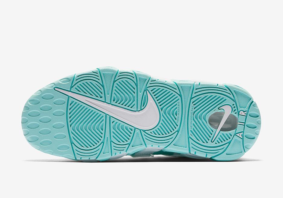 Island Green Nike Air More Uptempo