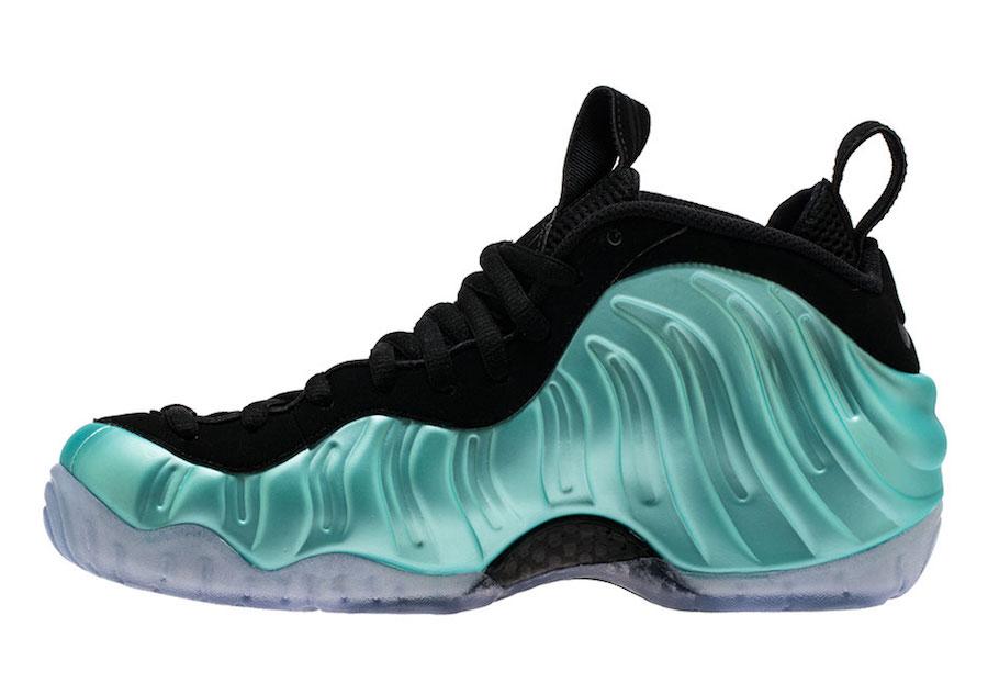 Island Green Nike Foamposite Pro 624041-303
