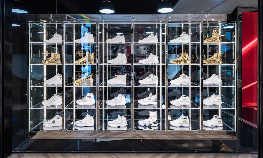 Go Inside the Largest Jordan Brand Store in Asia via Brian Betschart