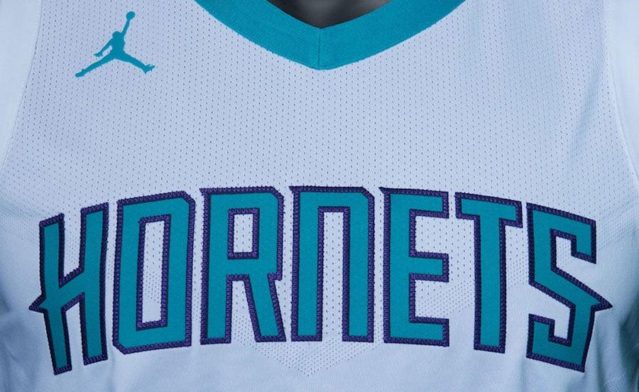 Jordan Charlotte Hornets Uniforms Jerseys