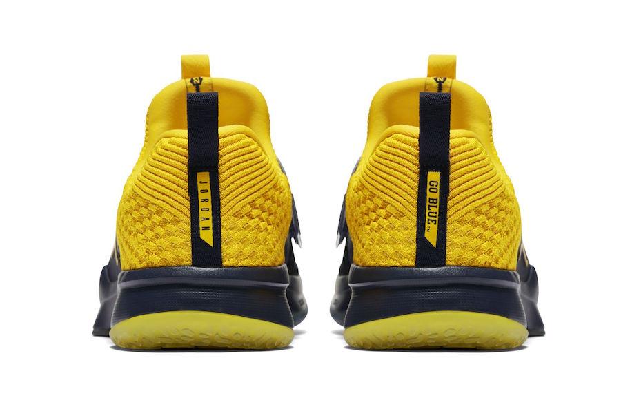 Jordan Trainer 2 Flyknit Michigan Release Date
