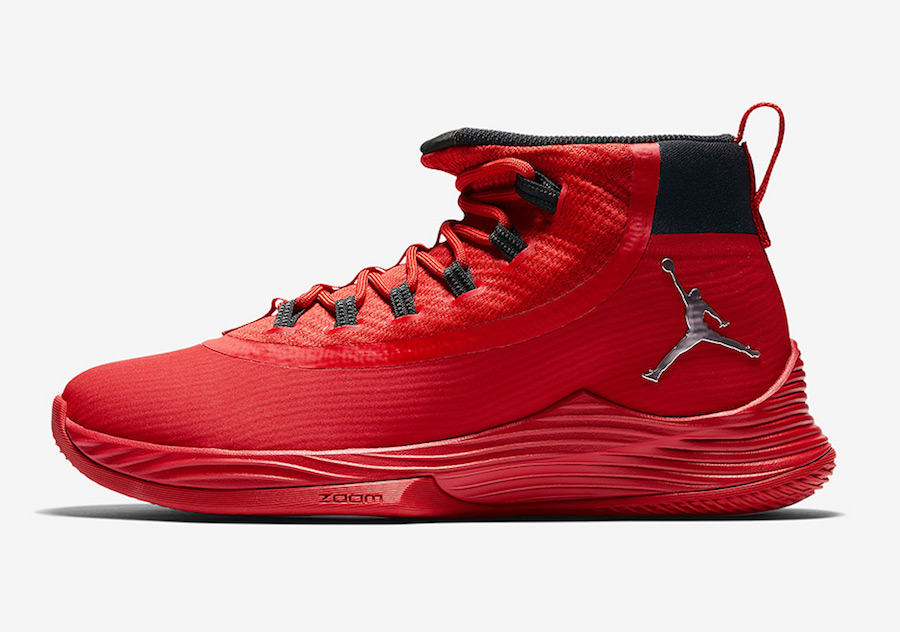 Jordan Ultra Fly 2 University Red Black Action Red