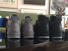 KAWS Air Jordan 4 Black 2018