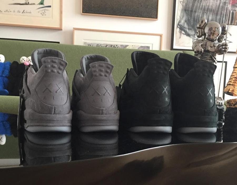 KAWS Air Jordan 4 Black 2018