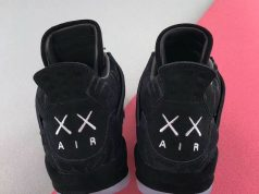 KAWS Air Jordan 4 Black 930155-001