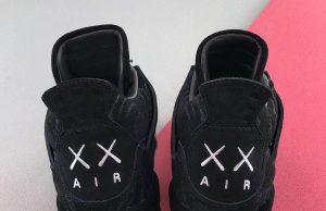 KAWS Air Jordan 4 Black 930155-001