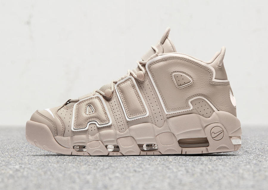 Light Bone Nike Air More Uptempo