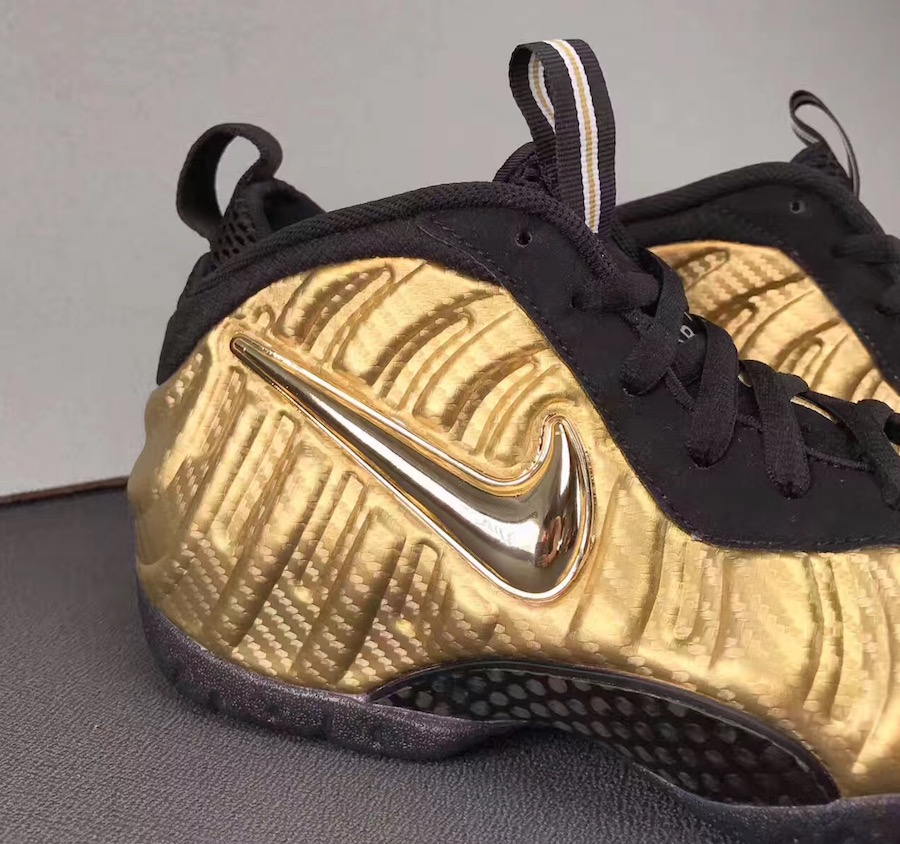 new style db51d b20b5 Metallic Gold Nike Foamposite Pro 624041-701