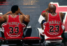 Michael Jordan Scottie Pippen Reunited