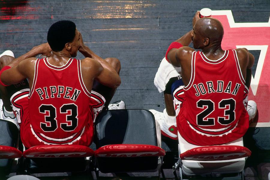 Michael Jordan Scottie Pippen Reunited