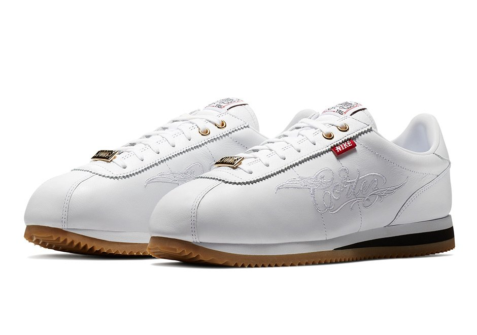 Mister Cartoon Nike Cortez White