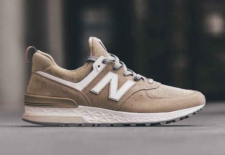 new balance 574 beige grey