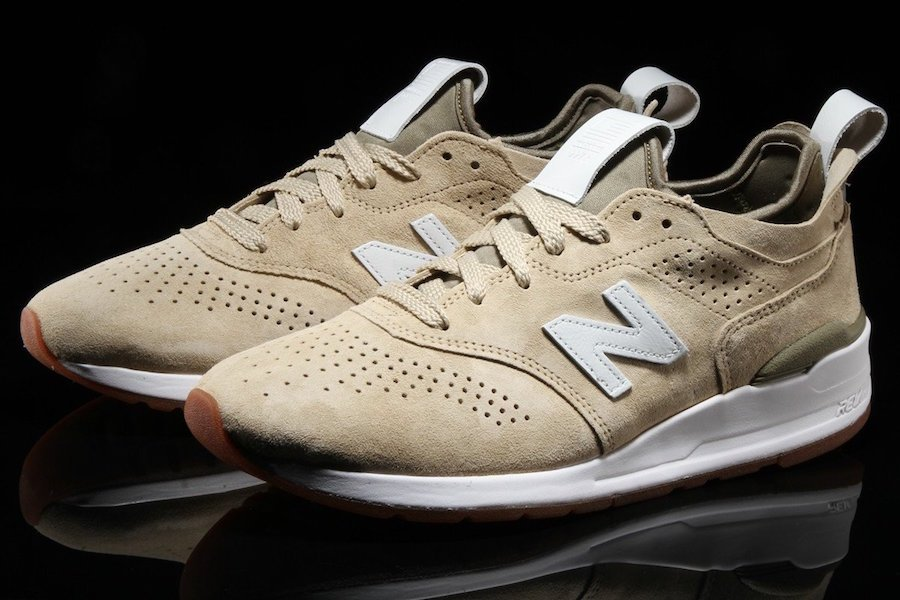 New Balance 997 Deconstructed Pigment Bone
