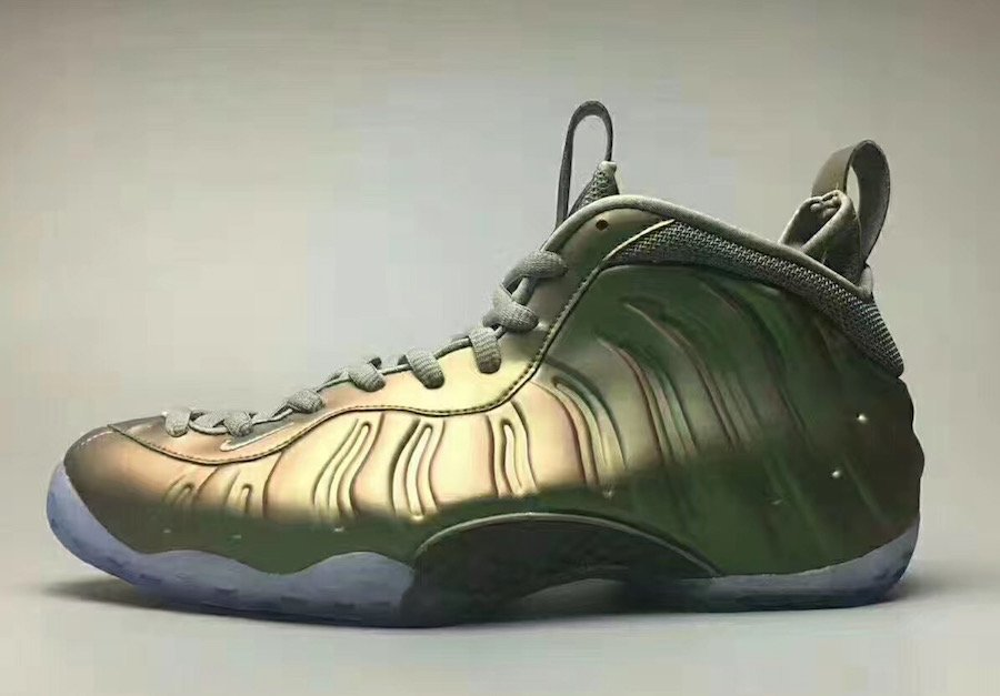 53bb2308d34 Nike Air Foamposite One Womens Shine Stucco Release Date