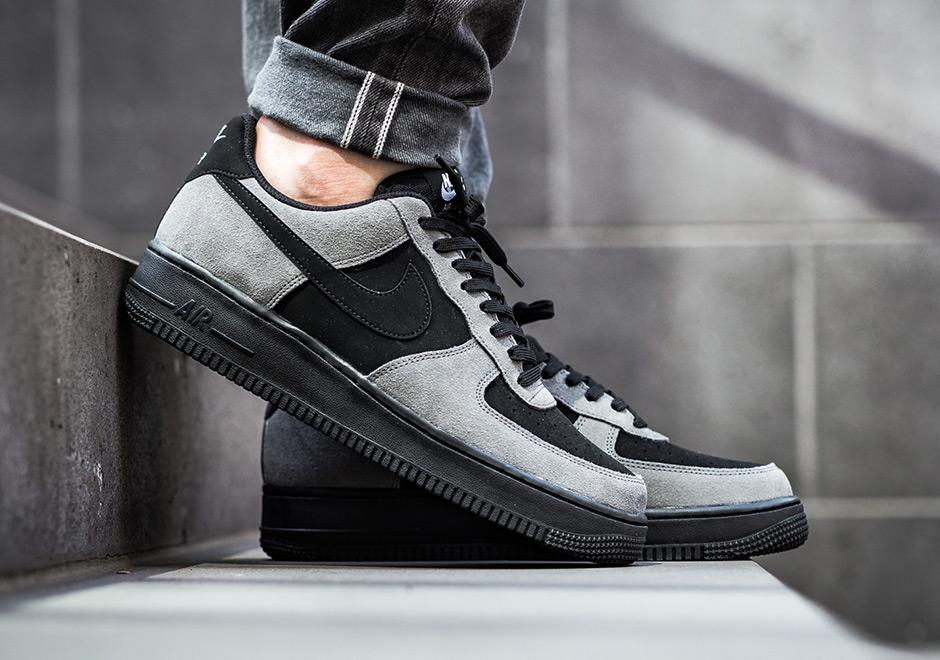Nike Air Force 1 Low Dark Grey Black