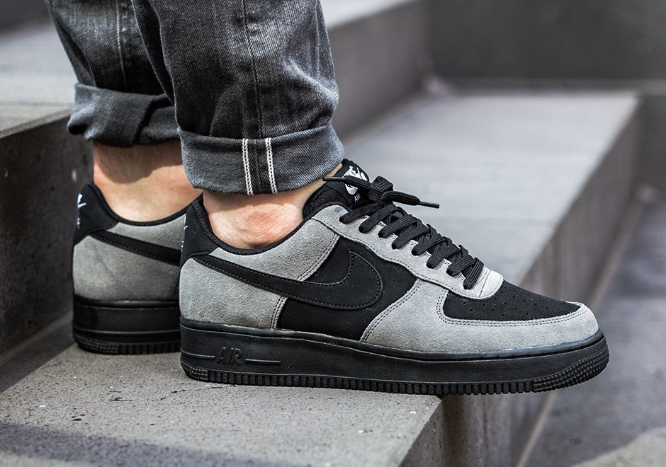 741be4843c1db Nike Air Force 1 Low Dark Grey Black 820266-020