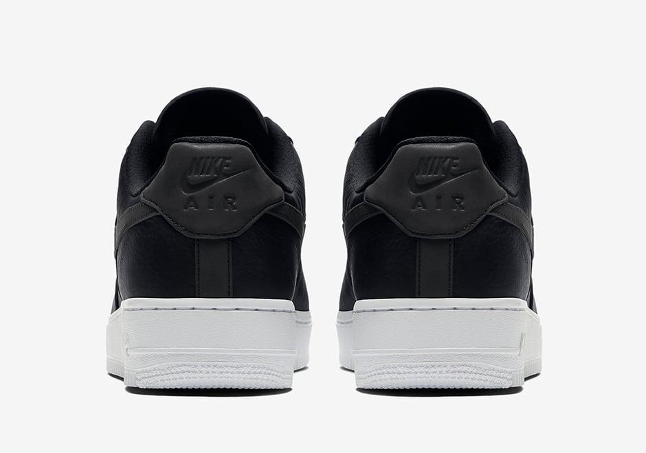 Nike Air Force 1 Low Premium Reflective Swoosh Black White 905345-001