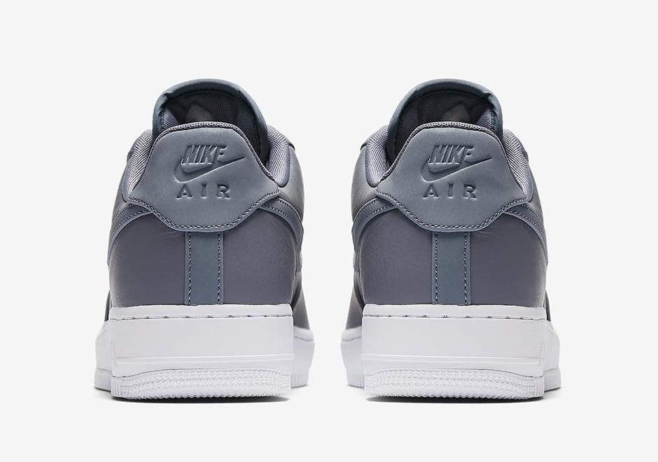 Nike Air Force 1 Low Premium Reflective Swoosh Cool Grey White 905345-003 0210b46681