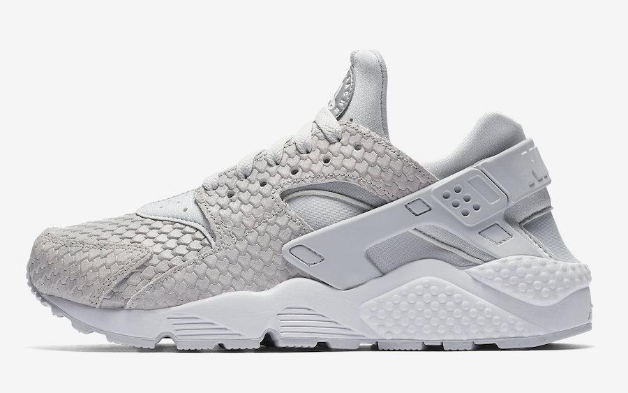 Nike Air Huarache Grey Snake 683818-014