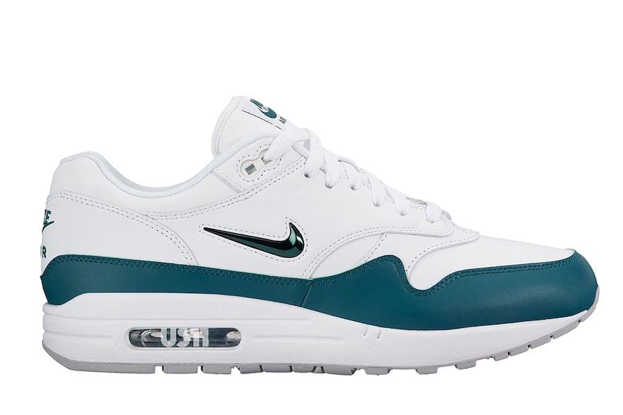 Nike Air Max 1 Jewel Aqua Teal White
