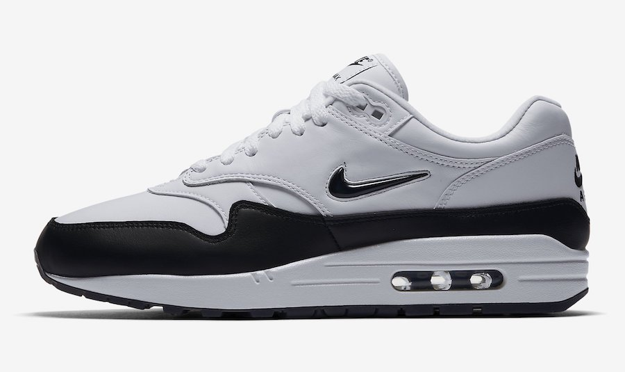 Nike Air Max 1 Jewel Black White Release Date