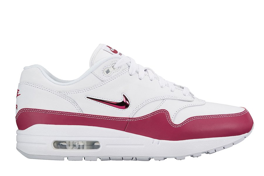 Nike Air Max 1 Jewel Red Pink White