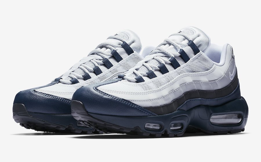 Nike Air Max 95 Essential Armory Navy 749766 406 Sneakerfiles