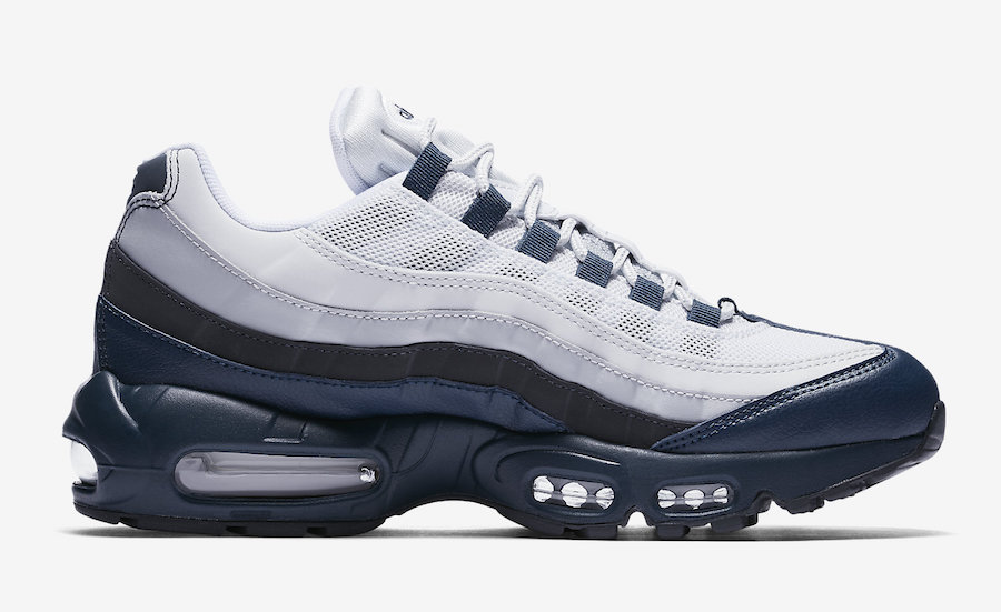 innovative design 3afb9 b0c18 Nike Air Max 95 Essential Armory Navy 749766-406 | SneakerFiles
