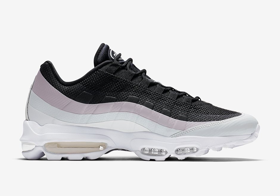 Nike Air Max 95 Ultra Black White Pink