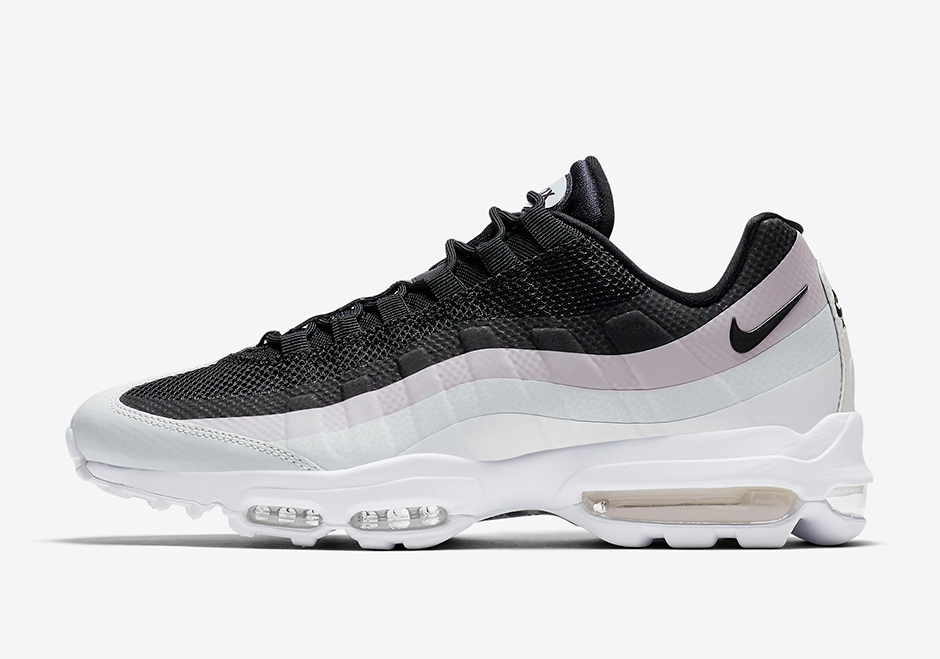 nike air max 95 ultra white and black