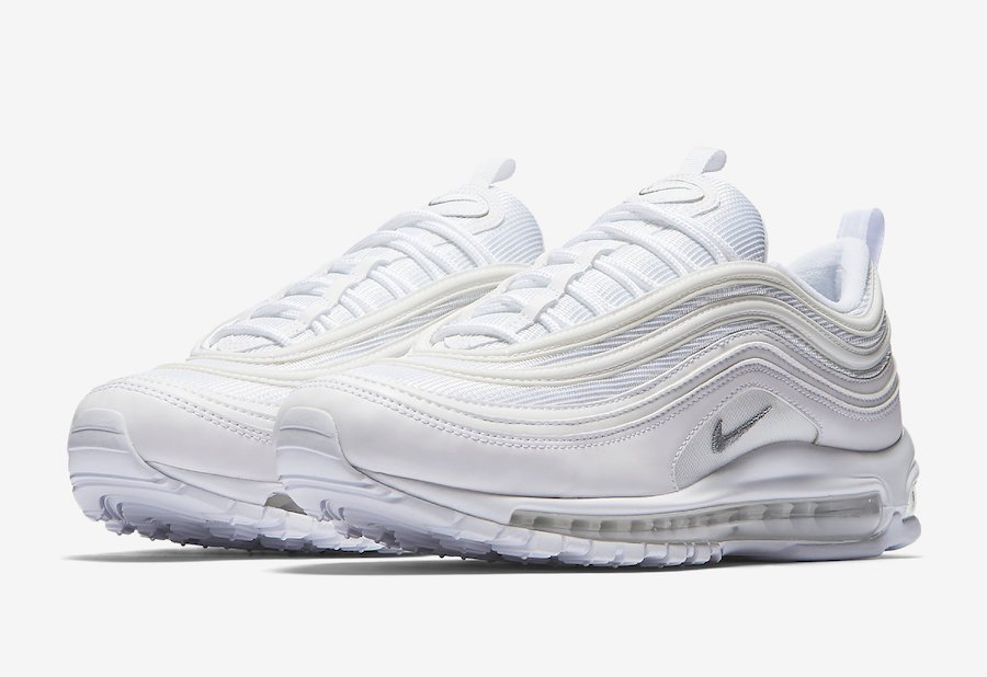 new product 11cc8 d5de2 Nike Air Max 97 Triple White 921826-101 Release Date